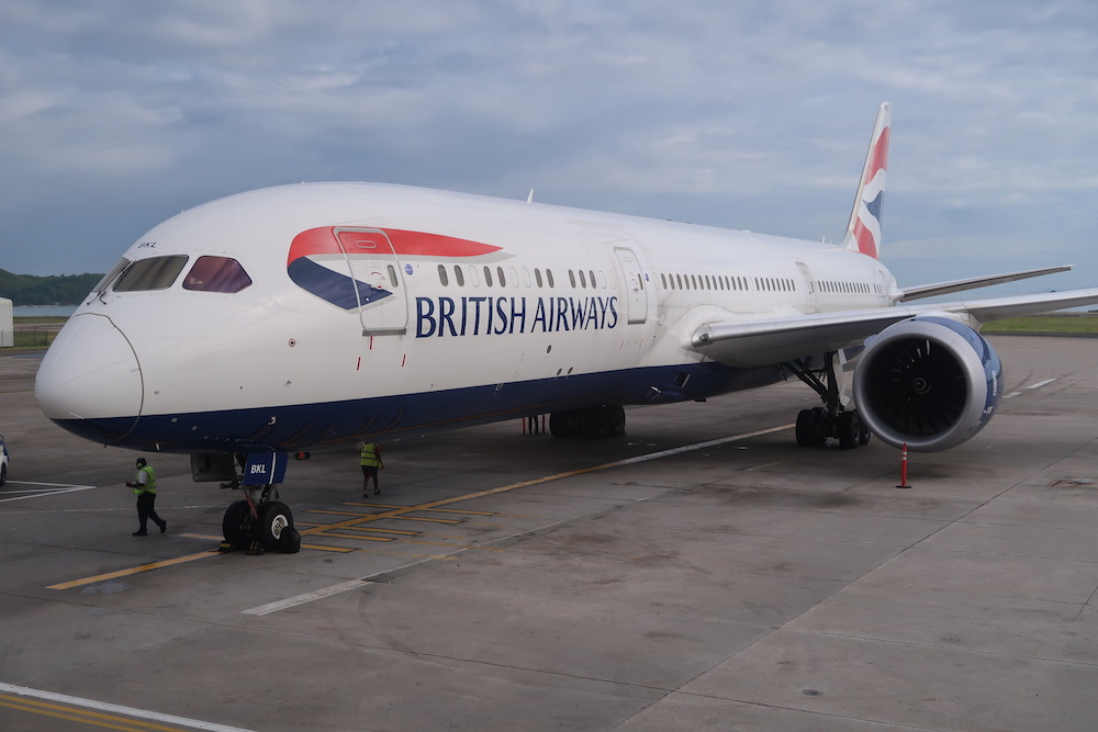 Review: British Airways Boeing 787 Business Class Seychelles