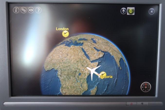 BRITISH AIRWAYS B787: INFLIGHT ENTERTAINMENT