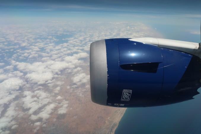 BRITISH AIRWAYS B787: REACHING SOMALIA