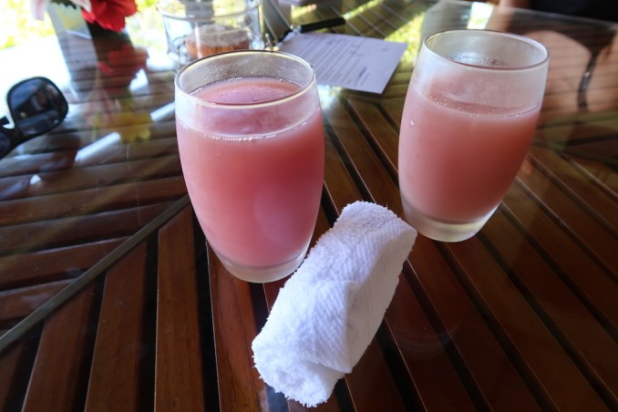 MAIA RESORT SEYCHELLES: VILLA - WELCOME DRINK