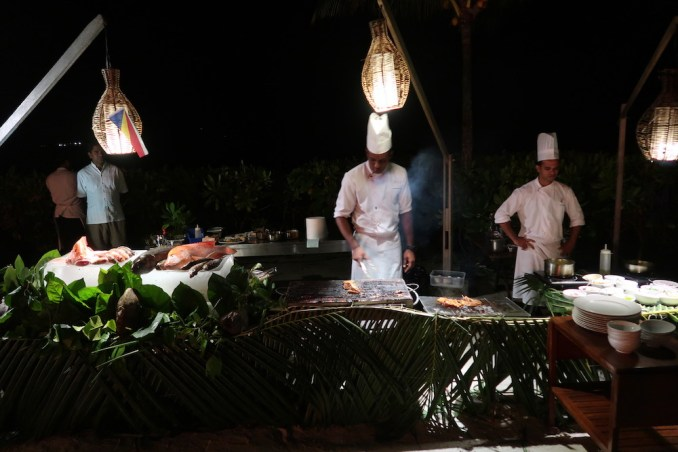 MAIA RESORT SEYCHELLES: DINNER (CREOLE BUFFET)