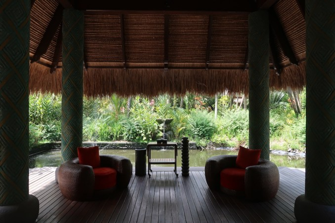 MAIA RESORT SEYCHELLES: WELCOME PAVILION
