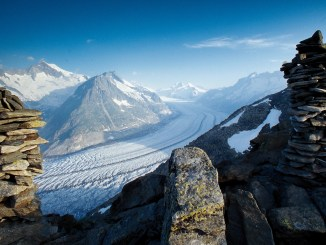 ALETSCH, THE LARGEST ALPINE GLACIER