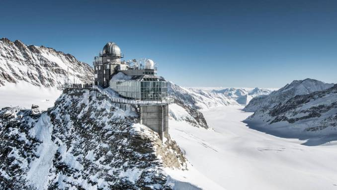 JUNGFRAUJOCH, THE ROOF OF EUROPE