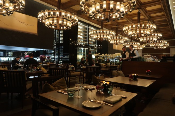 THE CHEDI ANDERMATT: DINNER AT THE RESTAURANT