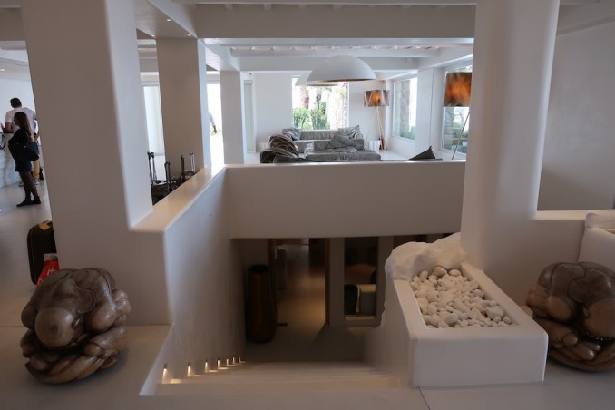 CAVO TAGOO MYKONOS: SPA (ENTRANCE VIA LOBBY)
