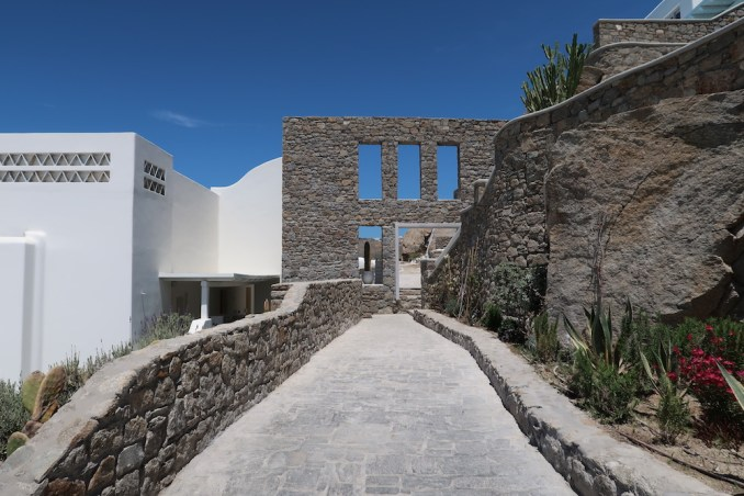 CAVO TAGOO MYKONOS: PATHWAYS TO ROOMS