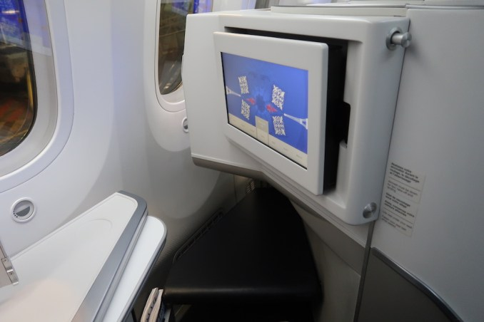 AIR FRANCE BOEING 787: BUSINESS CLASS SEAT