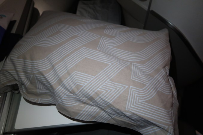 AIR FRANCE BUSINESS CLASS: PILLOW