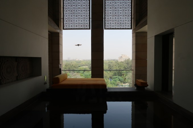 THE LODHI DELHI: DELUXE ROOM (TERRACE WITH POOL)