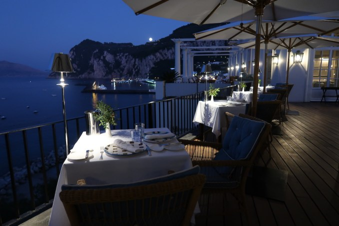 JK PLACE CAPRI: JKITCHEN RESTAURANT (DINNER)