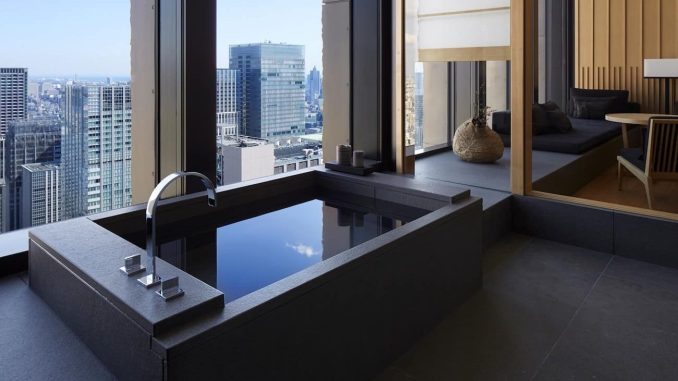 AMAN TOKYO, JAPAN hotel bathroom