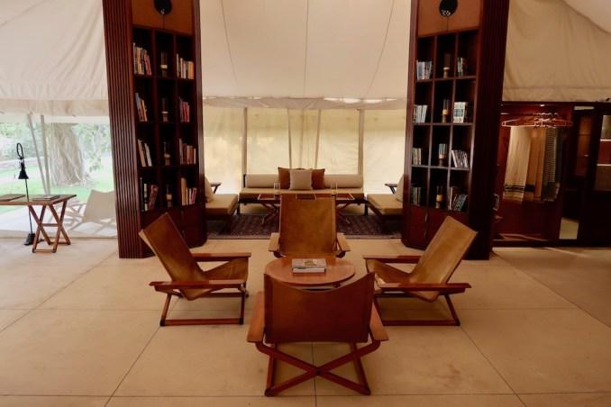 AMAN-I-KHAS: LIBRARY & LOUNGE TENT