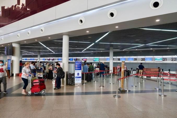 PHNOM PENH AIRPORT CHECK-IN AREA