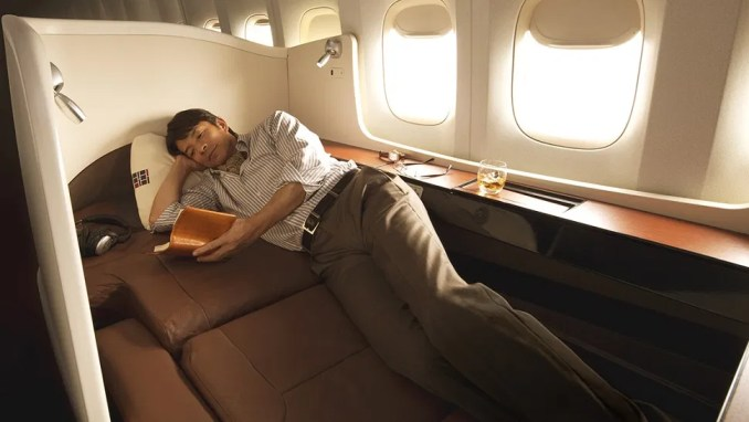 airlines with best first class: JAPAN AIRLINES