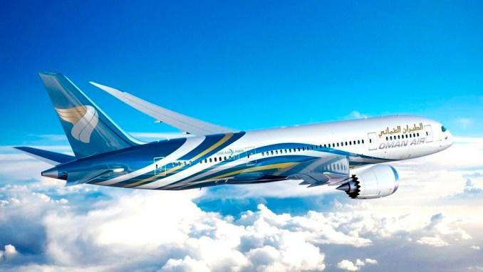 Oman Air 787
