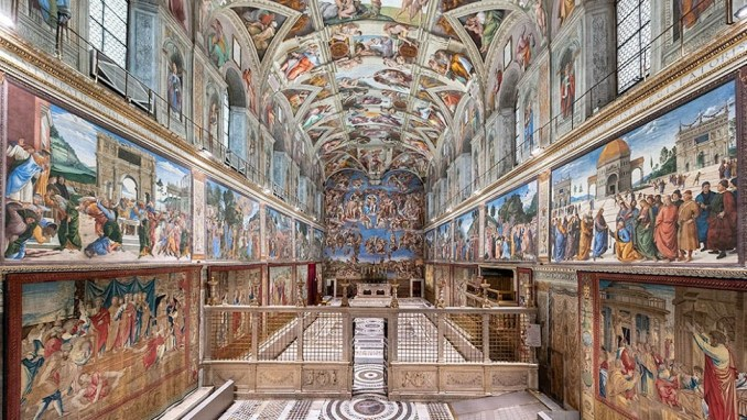 THE VATICAN MUSEUMS, VATICAN CITY, ITALY