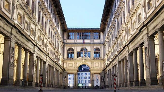 THE UFFIZI GALLERIES, FLORENCE, ITALY