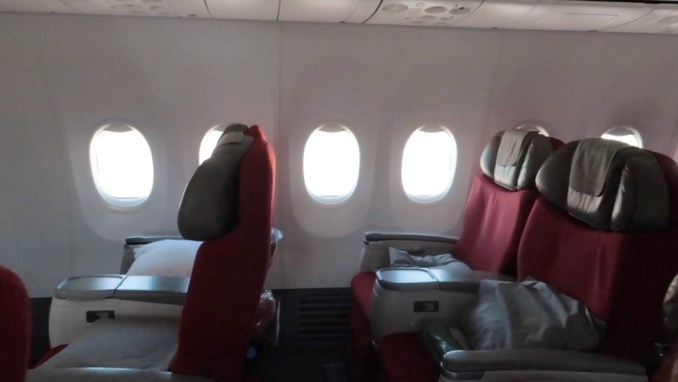 ETHIOPIAN AIRLINES B737 BUSINESS CLASS CABIN