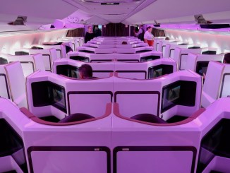 virgin atlantic A350 upper class review