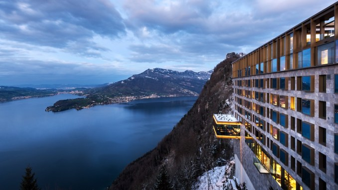 STAYING AT SWITZERLAND'S MOST LUXURIOUS HOTELS