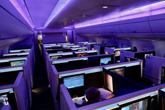 DELTA A350 BUSINESS CLASS