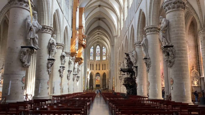 CATHEDRAL OF ST MICHAEL & ST GUDULA
