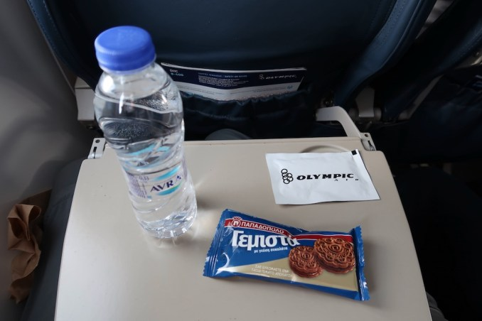 OLYMPIC AIR: ONBOARD SNACK