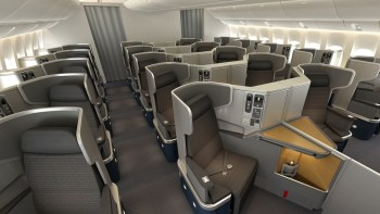 American Airlines 777-300ER business class