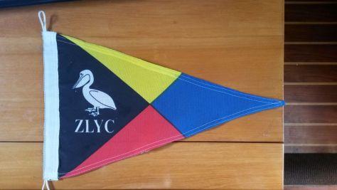 Der Stander des Zululand Yacht Club