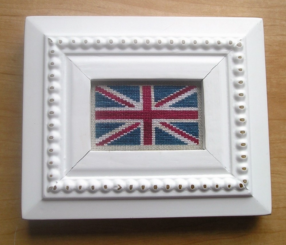 Union Jack Cross Stitch Design