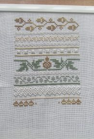 """Very Victorian... Acorns"" by Eileen Bennett"