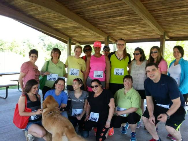 The participants of the 2015 Stomp Out Lymphedema Walk in Baltimore!