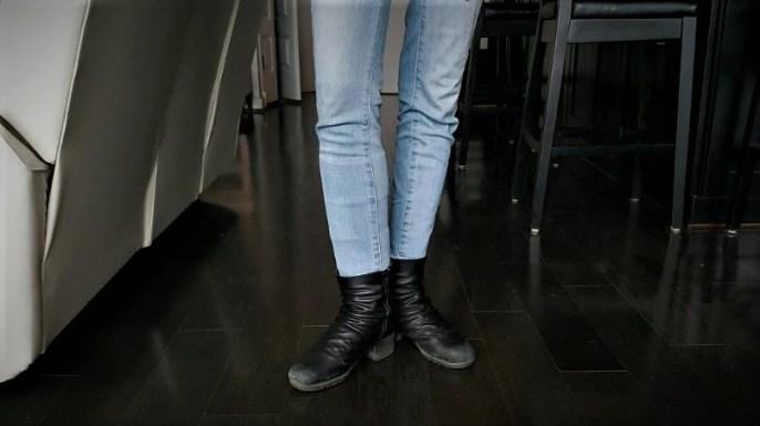 The CompreFLEX Lite fit under my jeans.