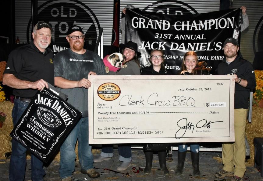 Clark Crew BBQ wins The Jack