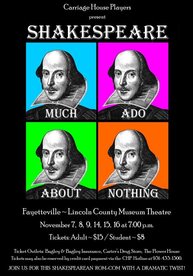 Local stars in Much Ado About Nothing