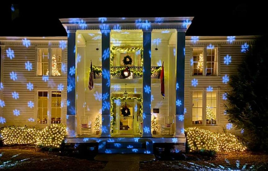 Promise Manor added to Best Christmas Lights list