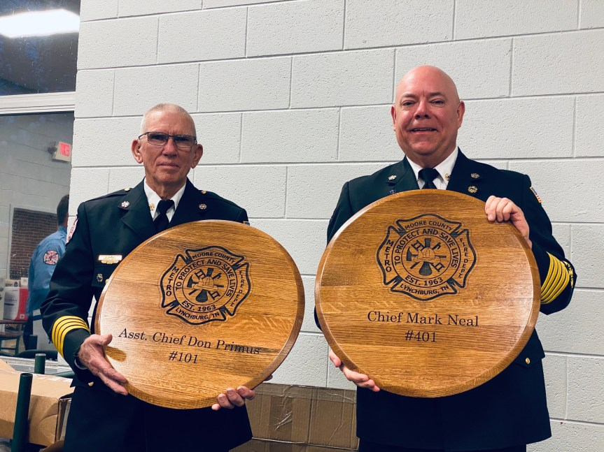 Moore firefighters recognized at Appreciation Dinner