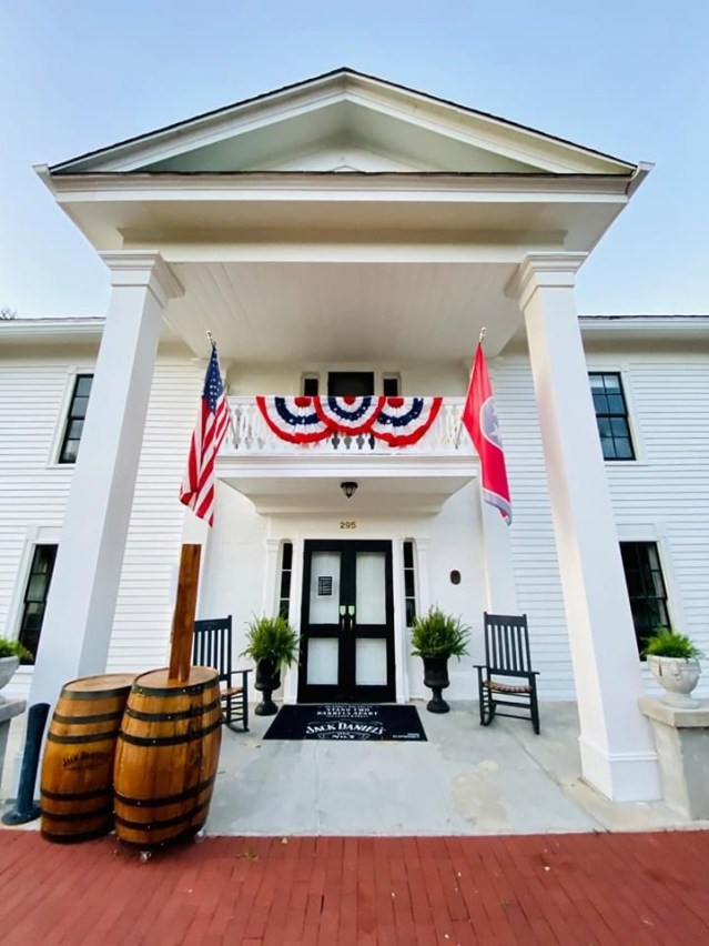 Miss Mary Bobo's Restaurant sits inside a historic Greek Revival home that originates back to a time before even the distillery existed. It's dining with a slice of southern culture served with a side of local history.