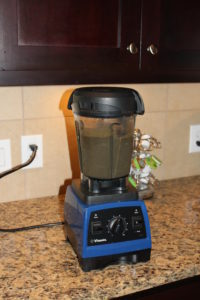 My VitaMix ... one of my (very expensive, but so amazing) prized posessions!