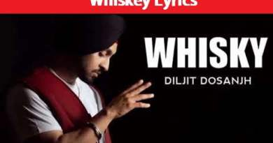 Diljit Dosanjh – Whiskey (Lyrics)