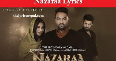 Nazaraa Lyrics – The Legendary Wadalis