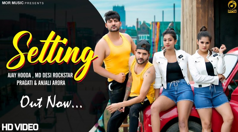 SETTING LYRICS - AJAY HOODA FT. MD