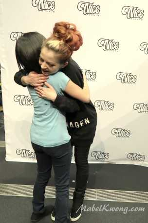 One of the best hugs in the world 😊