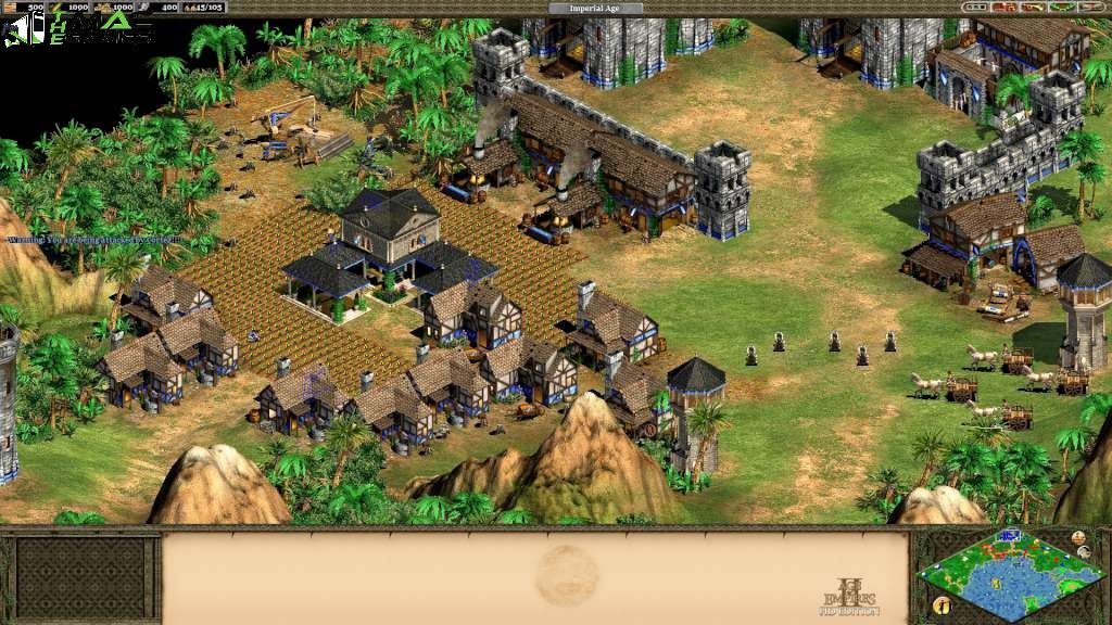 Age of Empires II [HD] MacOSX Game Free Download