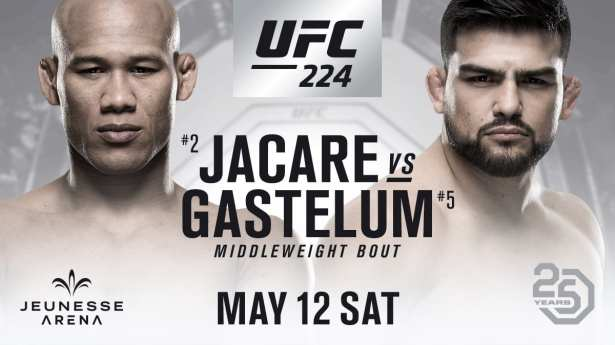 Image result for Ronaldo Souza vs. Kelvin Gastelum