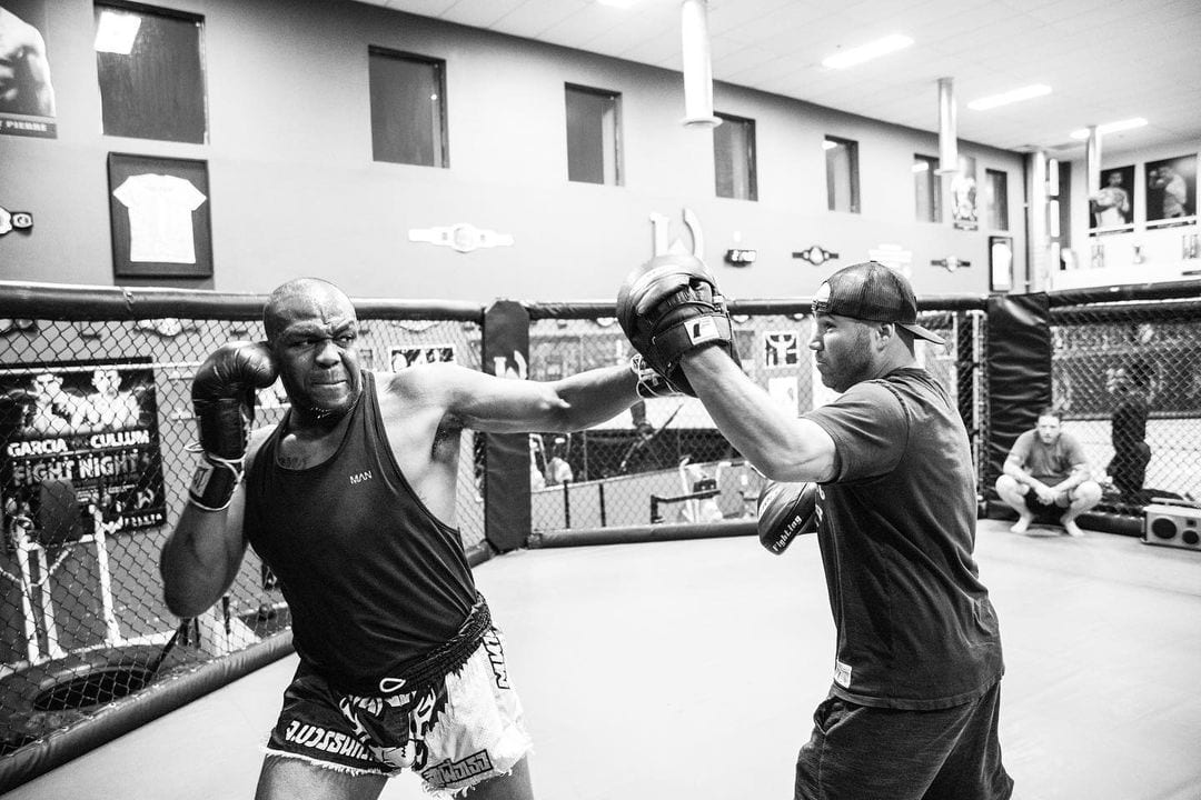 <p>Jon Jones: 'I want to be the same size as Ngannou if not bigger when we get out there' thumbnail