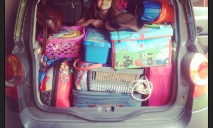 6 weeks of nomadic-living coming up…