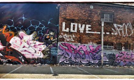 I love street art!