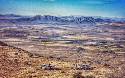 Historic Karoo villages, Afrikaans hospitality and a tomb on a mountain…